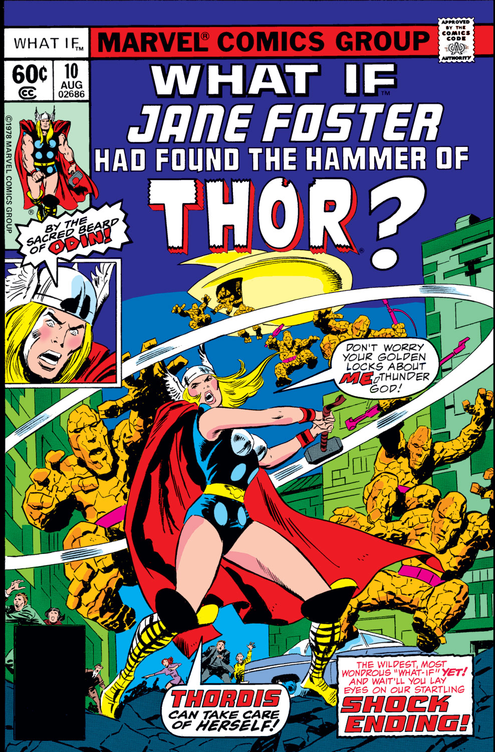 what if jane foster found the hammer of thor